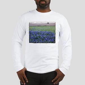 Blue Bonnets Long Sleeve T-Shirt