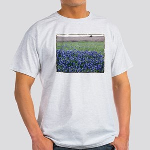 Blue Bonnets Ash Grey T-Shirt