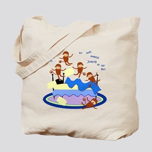 Five little Monkeys... Tote Bag