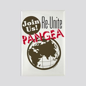 Re-Unite Pangea Rectangle Magnet