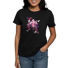 Gothic Fleur-de-lis Women's Dark T-Shirt