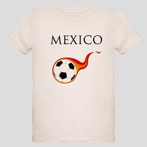 Mexico Soccer Organic Kids T-Shirt