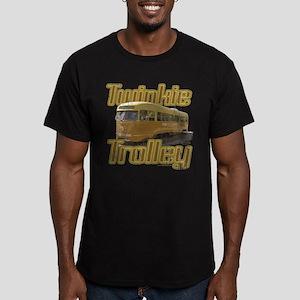 Twinkie Trolley Men's Fitted T-Shirt (dark)