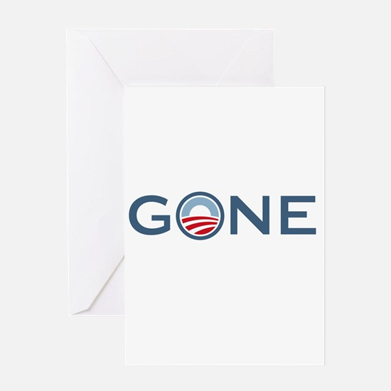 Obama is Gone Greeting Card