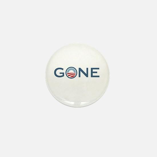Obama is Gone Mini Button
