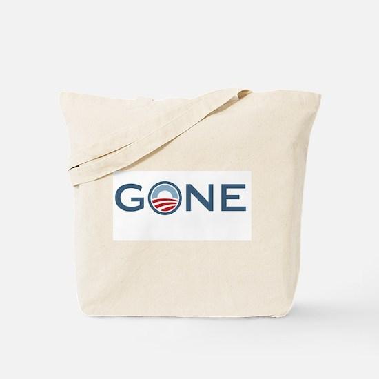 Obama is Gone Tote Bag