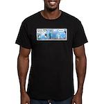 Dad's an Oral Surgeon Men's Fitted T-Shirt (dark)