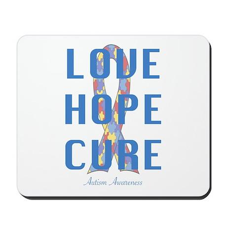 Autism Awareness (lhc) Mousepad