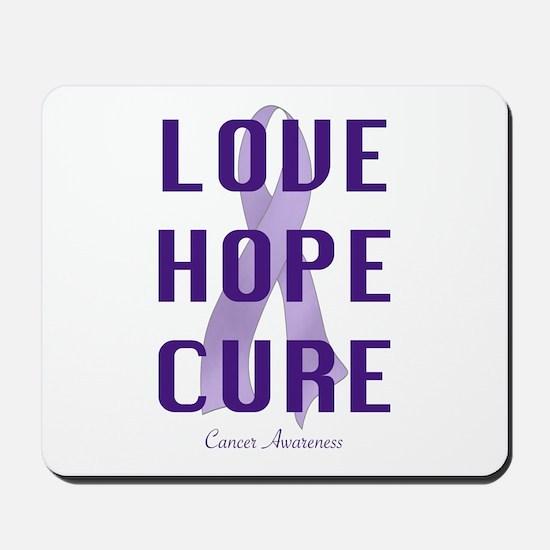 Cancer Awareness (lhc) Mousepad