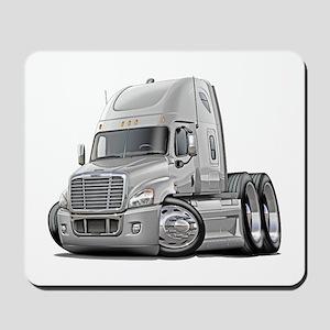Freightliner White Truck Mousepad