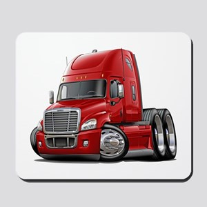 Freightliner Red Truck Mousepad