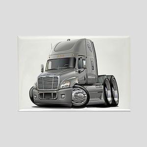 Freightliner Silver Truck Rectangle Magnet