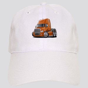 Freightliner Orange Truck Cap