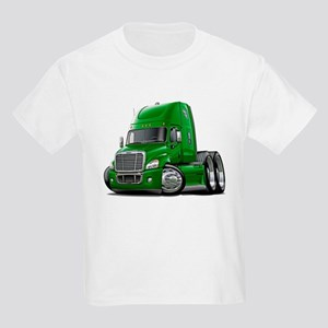 Freightliner Green Truck Kids Light T-Shirt