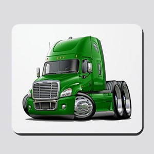 Freightliner Green Truck Mousepad