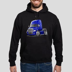 Freightliner Blue Truck Hoodie (dark)