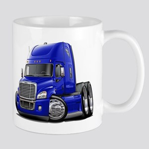 Freightliner Blue Truck Mug