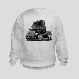 Freightliner Black Truck Kids Sweatshirt