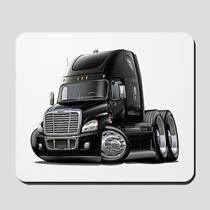 Freightliner Black Truck Mousepad