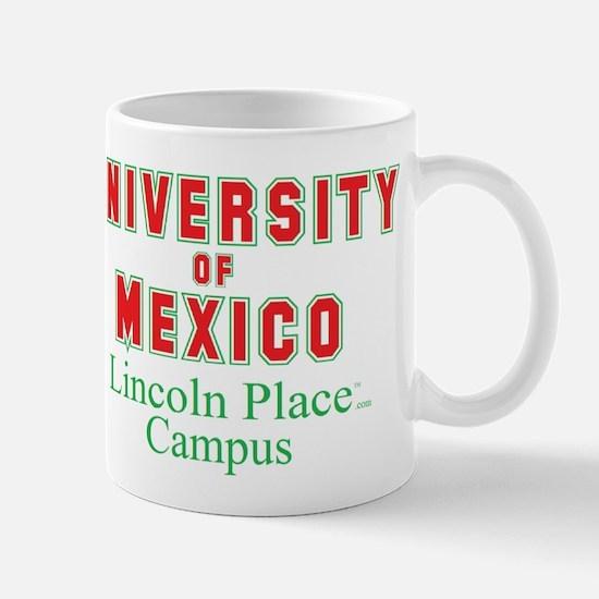 University of Mexico Lincoln Place Mug