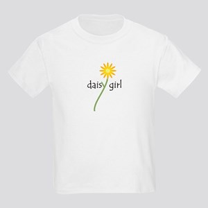 Yellow Daisy Girl Kids Light T-Shirt