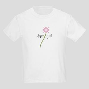 Pink Daisy Girl Kids Light T-Shirt