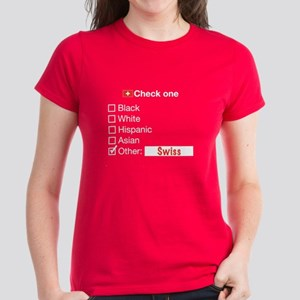 Swiss (World Cup) - Women's Dark T-Shirt