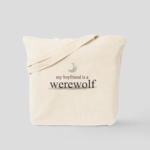 Boyfriend Werewolf Eclipse Tote Bag