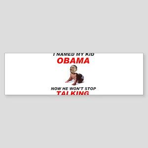 SHUT UP ! - Sticker (Bumper)