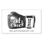 Gut Check Swag Sticker (rectangle 10 Pk)