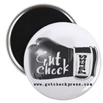 Gut Check Round Magnet
