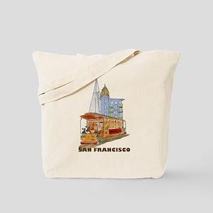 San Francisco - Be Green Tote Bag
