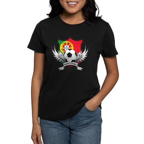 Portugal soccer Women's Dark T-Shirt