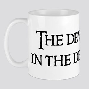 The devil is Mug