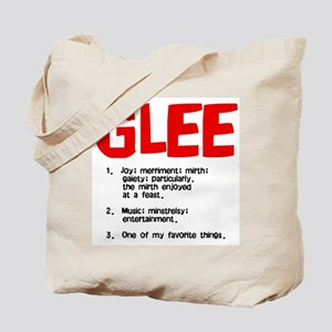 glee defined Tote Bag