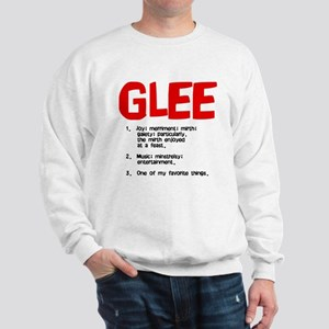 glee defined Sweatshirt