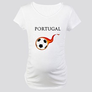 Portugal Soccer Maternity T-Shirt