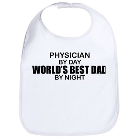 World's Best Dad - Physician Bib