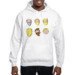 Hair Styles of Narya Hooded Sweatshirt