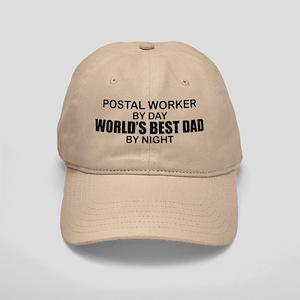 World's Best Dad - Postal Worker Cap