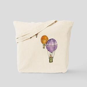 Hot Air Balloon -Be Green Tote Bag