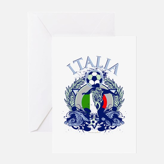 Italia Soccer Greeting Card