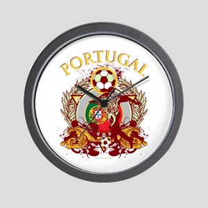 Portugal Soccer Wall Clock