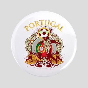 """Portugal Soccer 3.5"""" Button"""