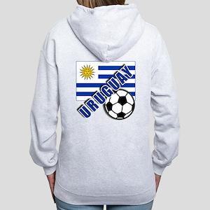 URUGUAY Soccer Team Women's Zip Hoodie