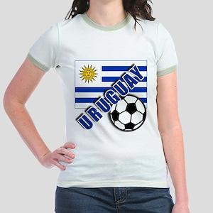URUGUAY Soccer Team Jr. Ringer T-Shirt