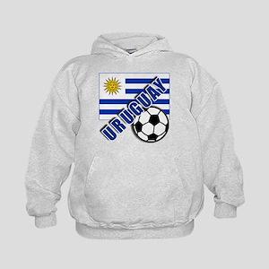 URUGUAY Soccer Team Kids Hoodie