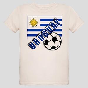URUGUAY Soccer Team Organic Kids T-Shirt