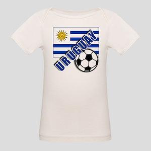 URUGUAY Soccer Team Organic Baby T-Shirt