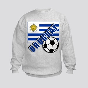 URUGUAY Soccer Team Kids Sweatshirt
